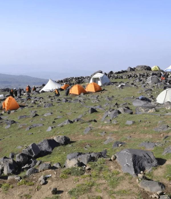 фото_ палаточный лагерь на Арарате, восхождение на Арарат с планБ, фото
