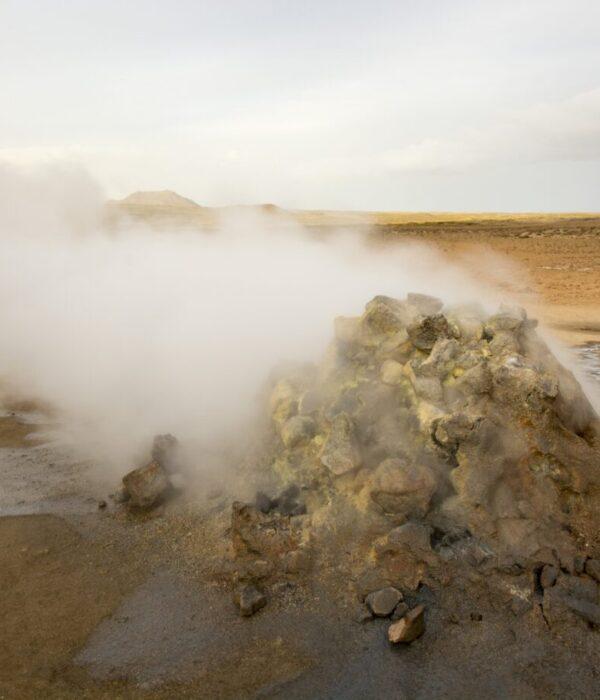 фото _ фумарола зоны Намафьел в авторском туре по Исландии с planB.ua
