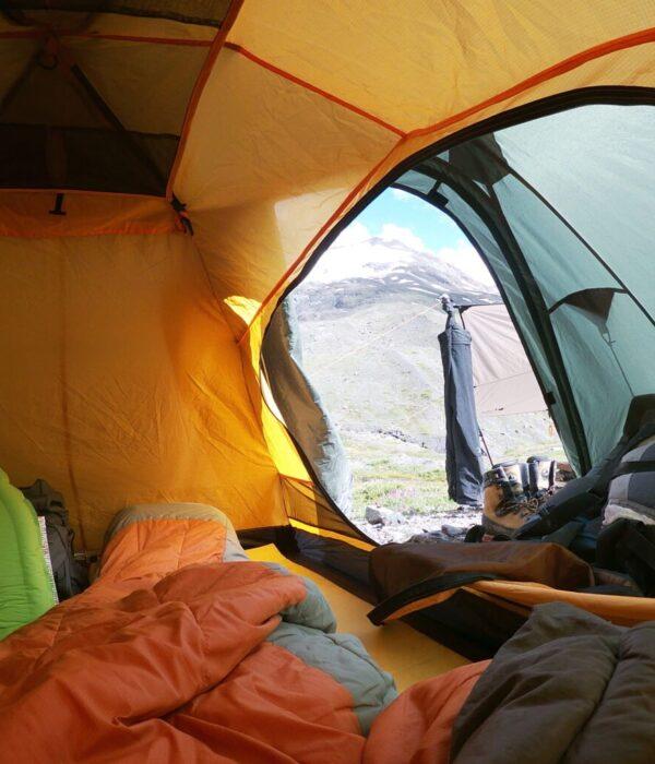 фото _ вид из базового лагеря на 2850 м. Восхождение на Лайлу с planb.ua