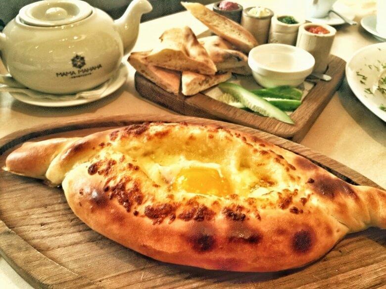 Основные блюда грузинской кухни