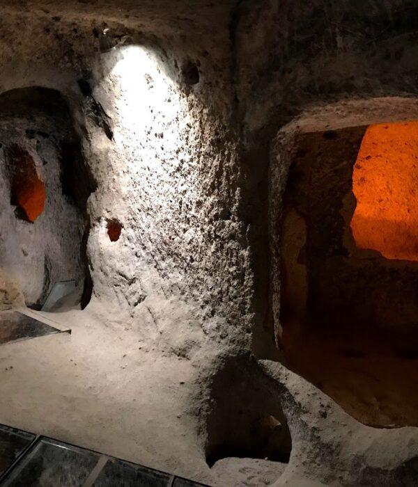 фото _ пещерный город Каймаклы в туре в Каппадокию с планомБ