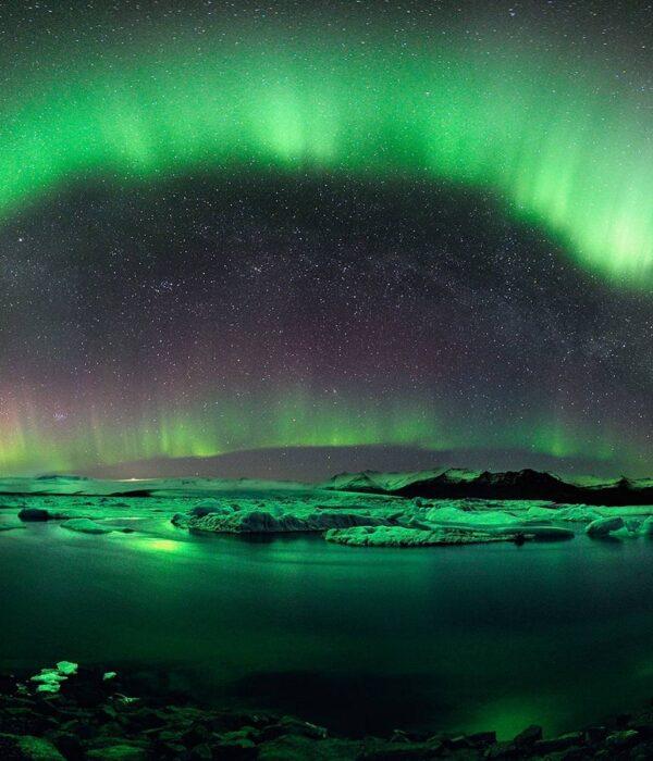 фото_ Северное сияние в автотуре по Исландии с planB.ua