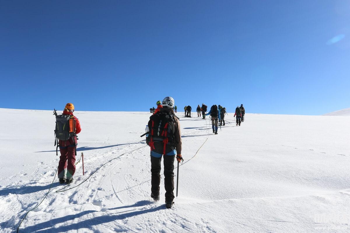 фото _ плато 4400м, Восхождение на Казбек с planB.ua