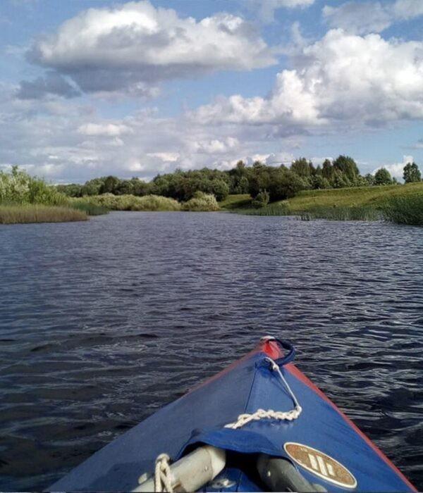 фото _ водные просторы будут покорены. Сплав на байдарках по реке Псел с planB.ua