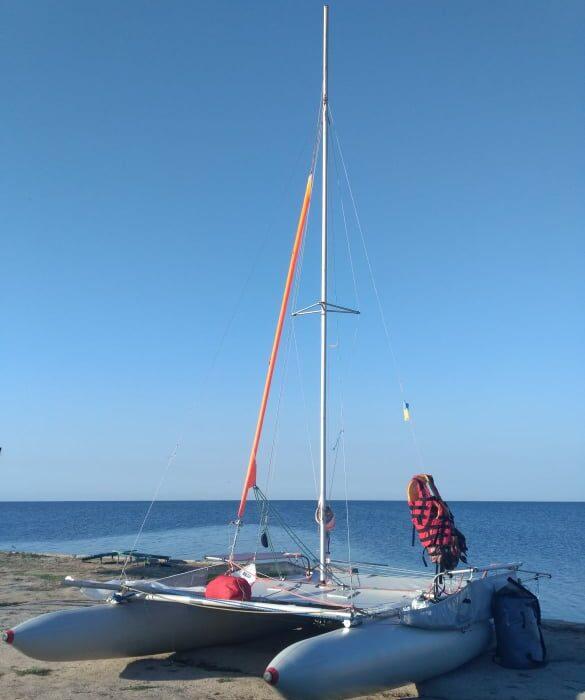 фото - отпуск в палатках на море на острове Джарылгач с планБ
