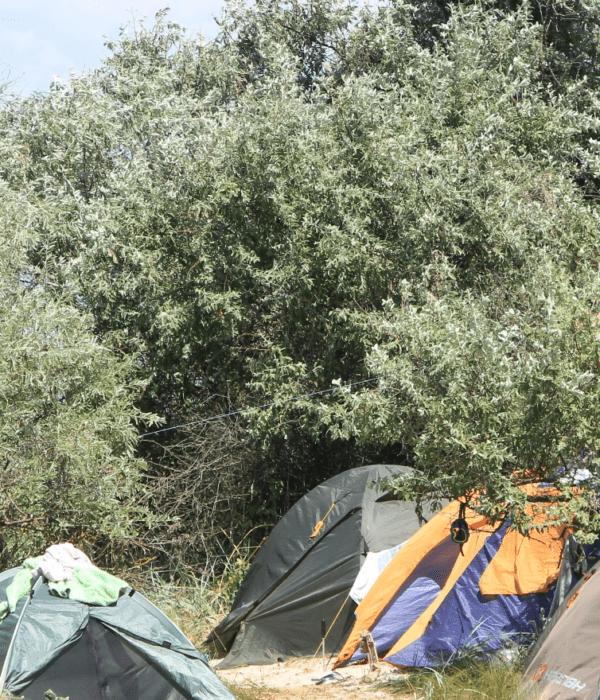 Отпуск на море в палатках с планомБ, фото